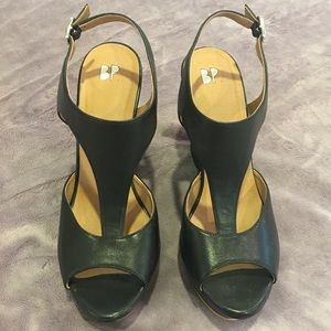 Worn Twice BP Black Wedges SFH